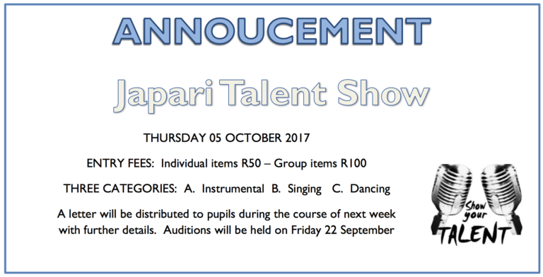 Japari School Talent Show