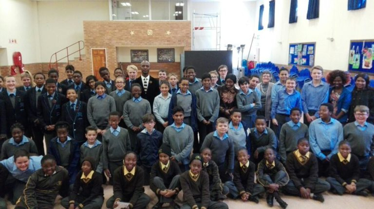 Japari School Hosts Visitors From Sizwile School For The Deaf