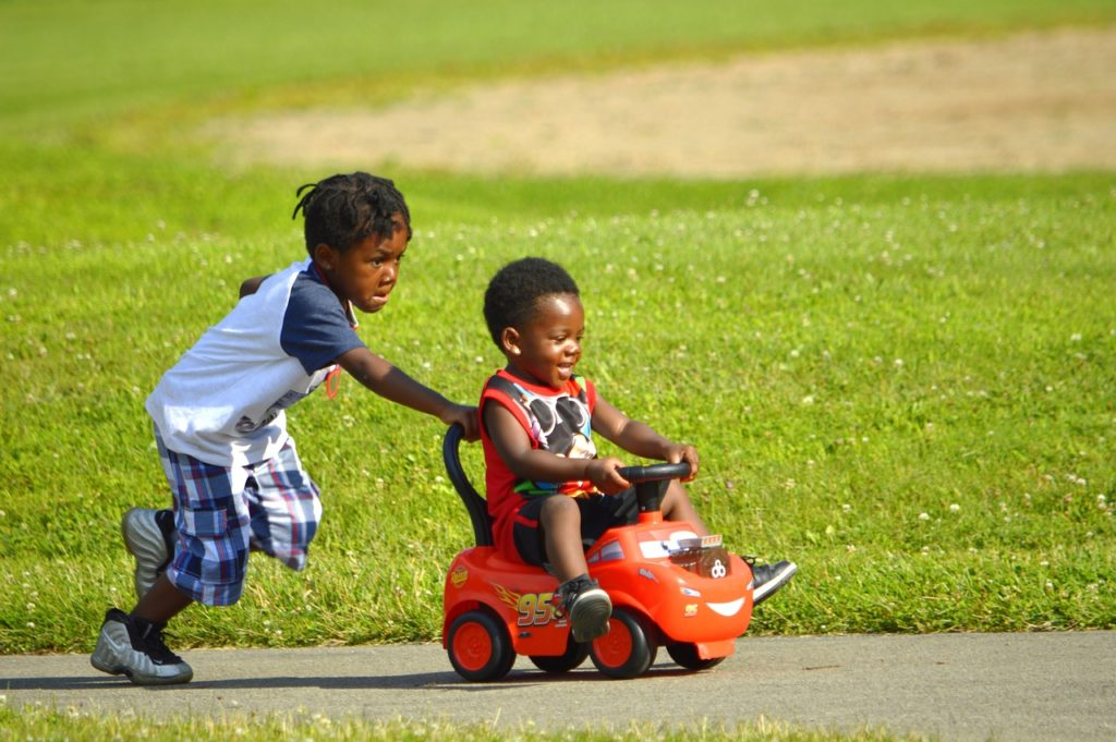 Attention Deficit Hyperactivity Disorder - kids playing